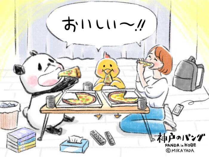 神戸のパンダ80話
